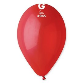 """Red 12"""" Latex Balloons, 50ct"""