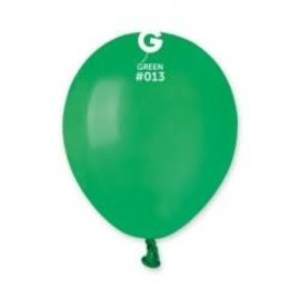 "Green 5"" Latex Balloons, 100ct"