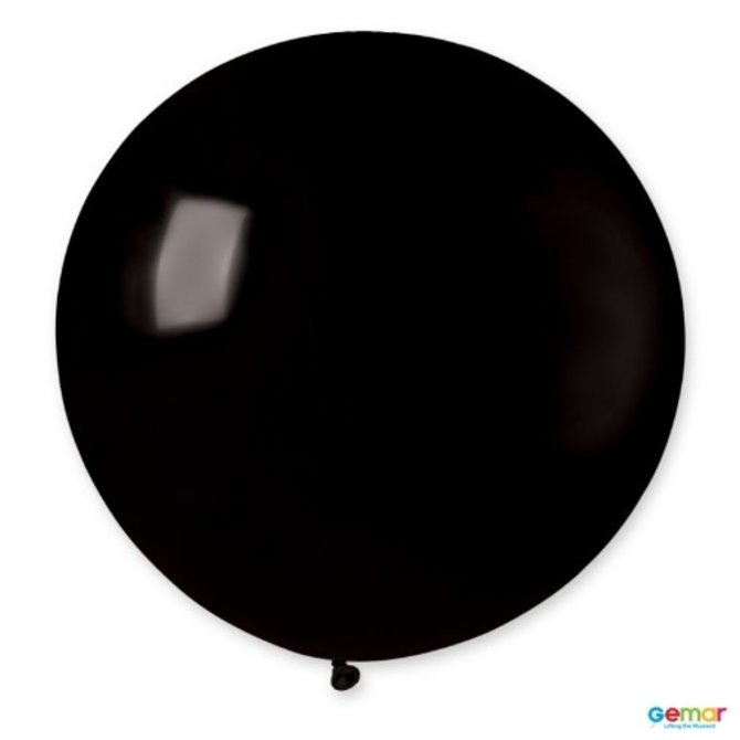 "31"" Black Latex Balloon"