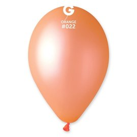 "Neon Orange 12"" Latex Balloons, 50ct"