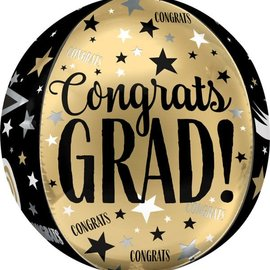 """16"""" Congrats Grad Cap Orbz"""