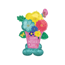 Airloonz Mother's Day Pretty Flower Pot