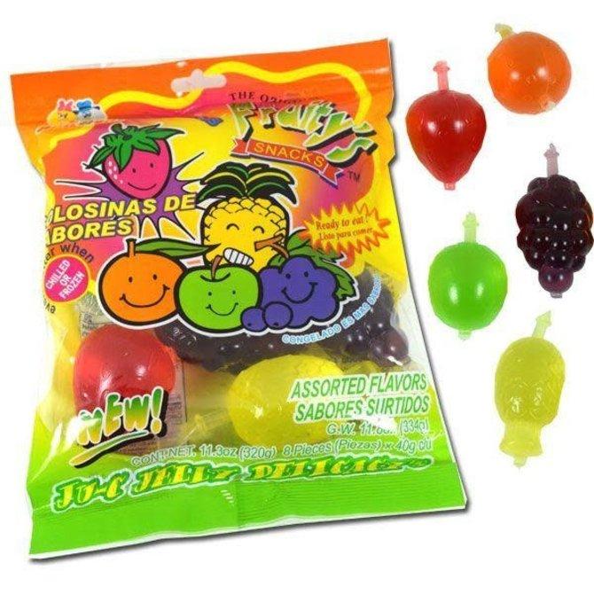Din Don Fruity's JU-C Jelly Fruit
