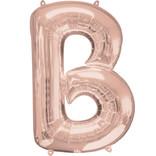 "16"" Letter B- Rose Gold"