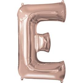 """16"""" Letter E- Rose Gold"""