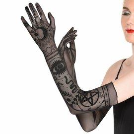Lunar Witch Long Sheer Gloves