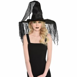 Haunted Deluxe Witch Hat