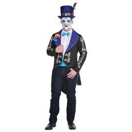 Neon Day Of The Dead Mens Jacket - Small/Medium