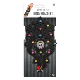 Day of the Dead Ring Bracelet