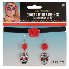 Day of the Dead Jewelry Set