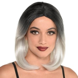 Bone White Short Wig