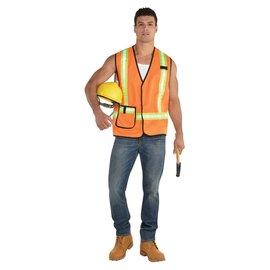 Construction Worker Vest - Adult Standard
