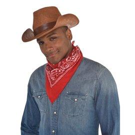 Western Burlap Hat
