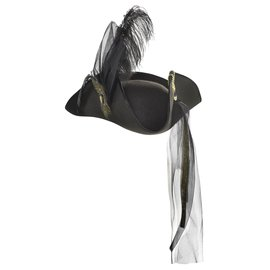 Tricorn Premier Feather Hat