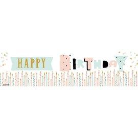 Birthday Surprise Banner 4 x 1