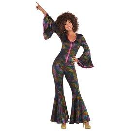 Womens Disco Pants Suit