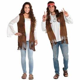 Long Hippie Vest ‑ Adult Standard