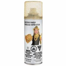 Body Spray Makeup - Gold Glitter