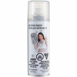Body Spray Makeup - Silver Glitter
