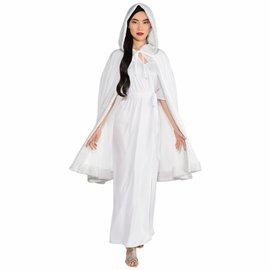 White Fur Trimmed Cloak