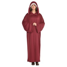 Red Hooded Robe - Adult Standard