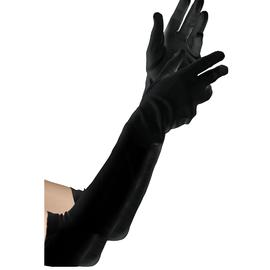 Long Black Gloves - Child
