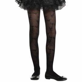 Black Lace Tights - Child