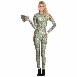 Ms. Millionaire Catsuit - Adult