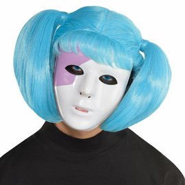 Creepy Susie Face Mask & Wig Kit