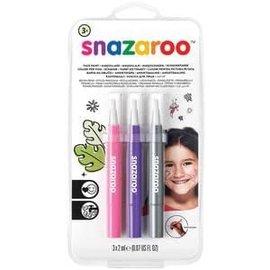 Fantasy Brush Pens 3ct - Snazaroo