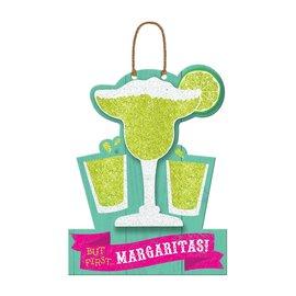 But First Margaritas Hanging Sign
