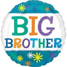 "18"" Big Brother Stars Foil Balloon"