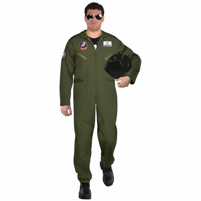 Adult Top Gun Maverick Flight Suit (#165)