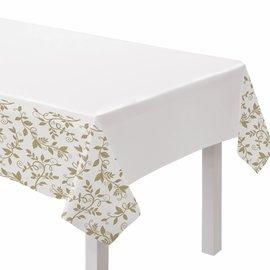 Happy 50th Anniversary Plastic Table Cover