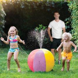 Beach Ball Inflatable Sprinkler