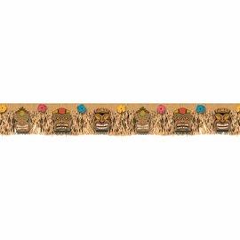 Vintage Tiki Fringe Banner