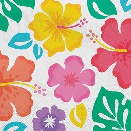 Summer Hibiscus Luncheon Napkins , 100ct
