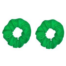 Green Scrunchies - 2ct