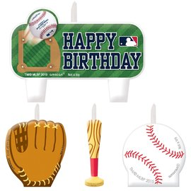 MLB Birthday Candle Set