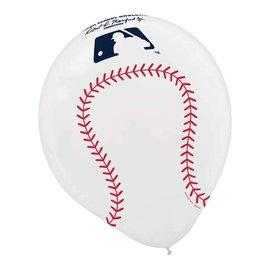 Rawlings Major League Baseball Printed Latex Balloons -6ct
