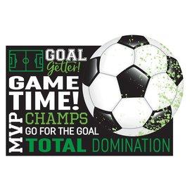 Goal Getter Postcard Invitations