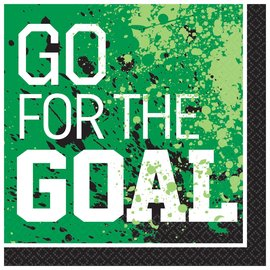 Goal Getter Luncheon Napkins -36ct