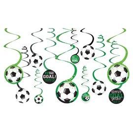 Goal Getter Value Pack Spiral Decorations - 12ct
