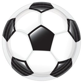 """Goal Getter Round Plates, 10 1/2"""" -18ct"""