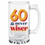 60th Birthday Tankard
