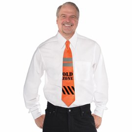 Over the Hill Construction Tape Tie