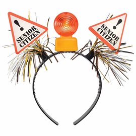 Over the Hill Construction Light Up Head Bopper