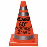 60th Birthday Cone