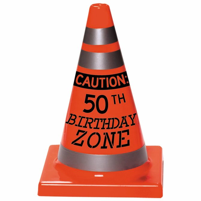 50th Birthday Cone