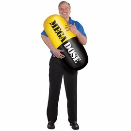 Inflatable Pill Prop